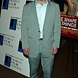 Paul Rudd wore a suit to the Tribeca Film Festival special screening of The Shape of Things in May 2003.