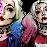 Pop Art Suicide Squad Harley Quinn Halloween Makeup Tutorial