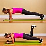 Elbow Plank Donkey Kick