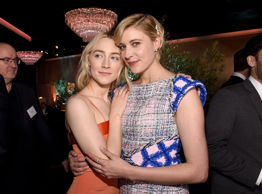 Saoirse Ronan and Greta Gerwig Pictures