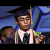 Valedictorian Carl Aquino, West Hall High School (2010)