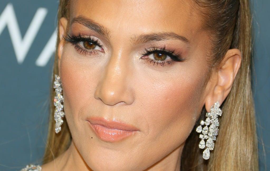 Jennifer Lopez's Champagne Critics' Choice Awards Dress
