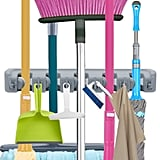 Mop Broom Holder, Garden Tools Wall Mounted Organiser