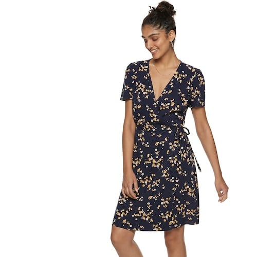 POPSUGAR Printed Wrap Dress