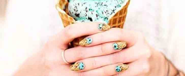 Ice Cream Nail Art Is the Sweetest Manicure Trend of Summer