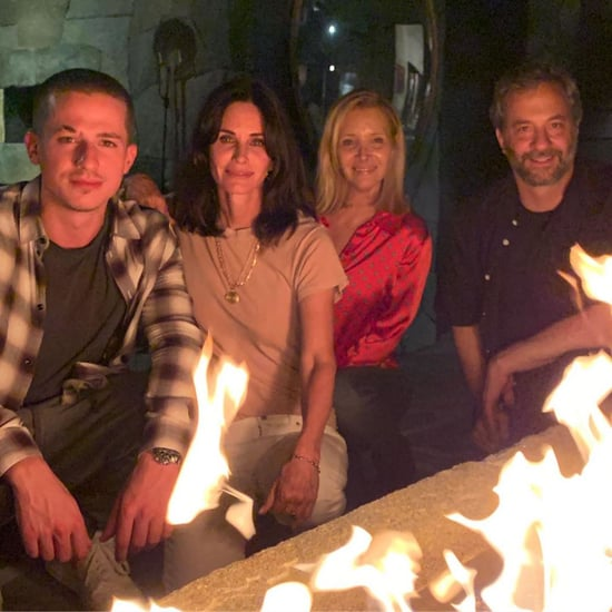 Courteney Cox and Lisa Kudrow Have a Mini Friends Reunion