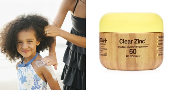 Mineral Sunscreens For Babies and Kids That Go on Clear