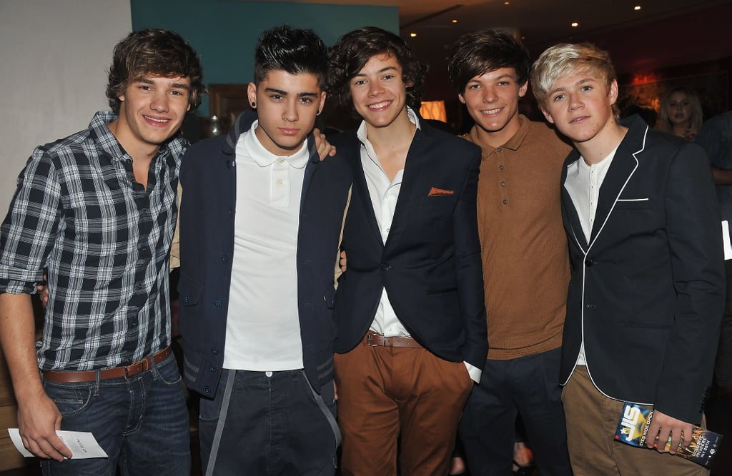 One Direction at the JLS Eyes Wide Open Premiere in 2011
