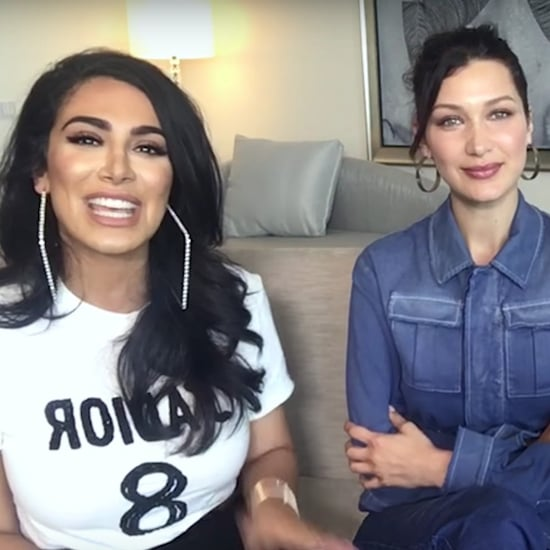 Bella Hadid Talks With Huda Kattan and Peter Philips