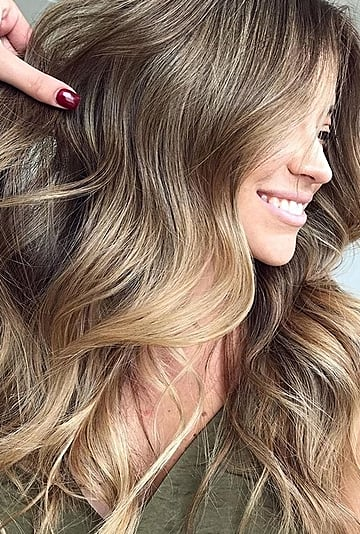 Fall Hair Color Trend: Tweed