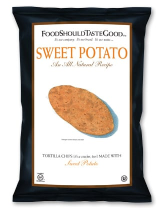 Food Review: Sweet Potato Chips by FoodShouldTasteGood