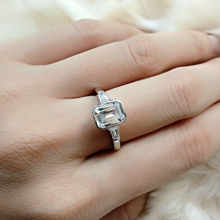 Shop Emerald-Cut Engagement Rings