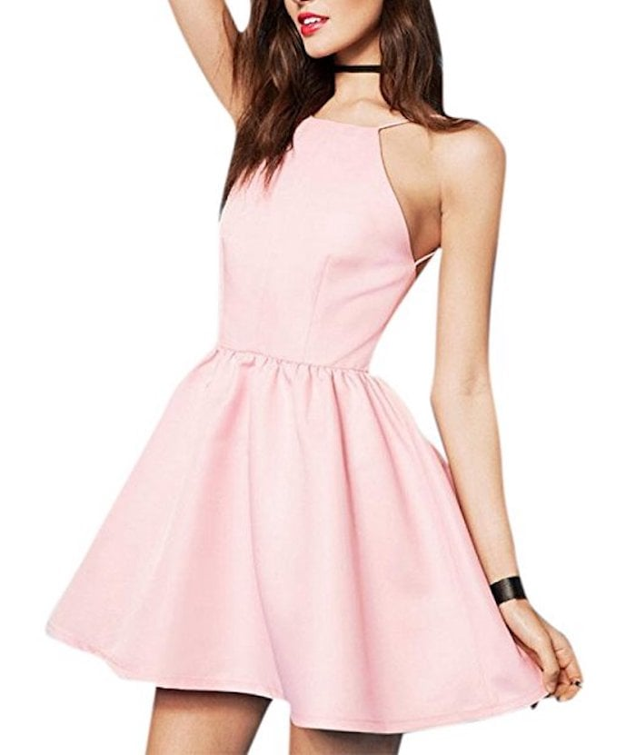 Enlishop Fit and Flare Dress