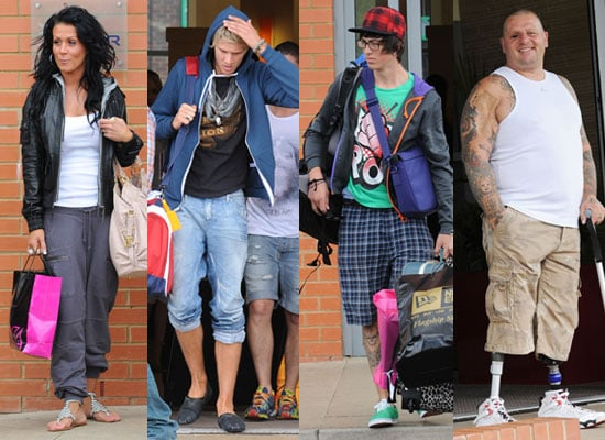 Pictures of Evicted Big Brother 11 Housemates John James, Sam Pepper, Corin and Steve Head to Studio to Wathc BB11 Final