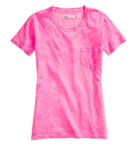 Every style setter needs a great set of casual t-shirts — here's a neon pink version that should bring the heat to your wardrobe essentials collection. Madewell Treehouse Tee ($25, originally $38)
