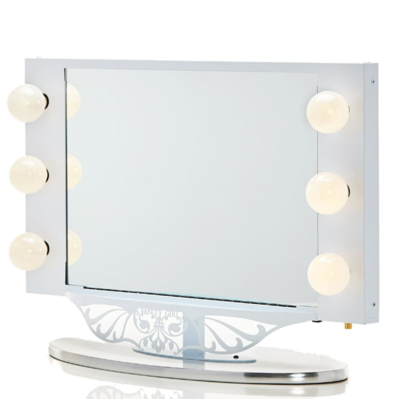 Vanity Girl Hollywood Starlet Lighted Mirror