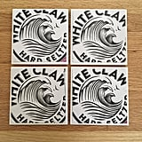 White Claw Ceramic Coasters
