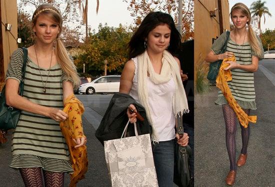 Photos of Taylor and Selena