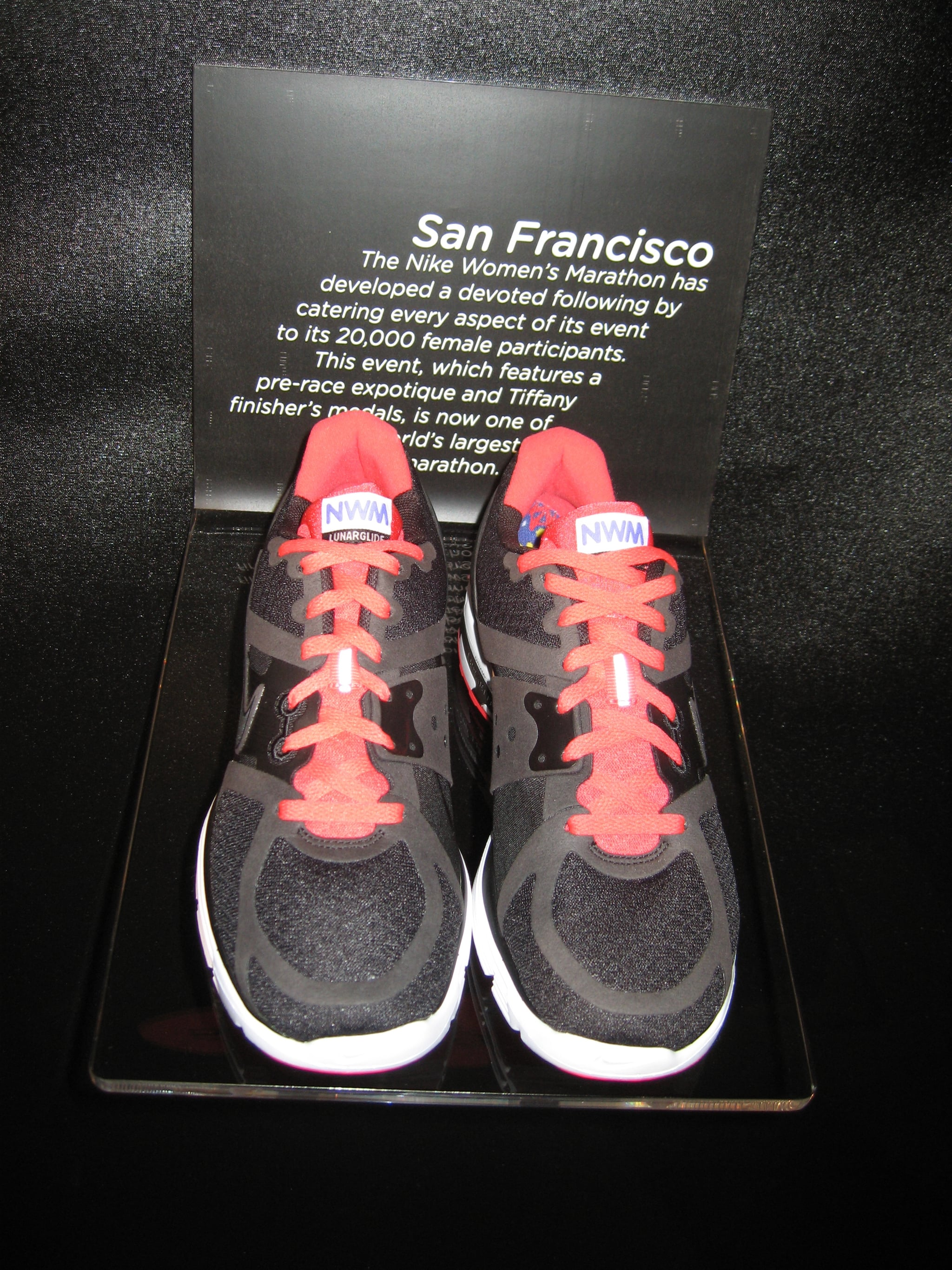 Line of Marathon Shoes: San Fancisco