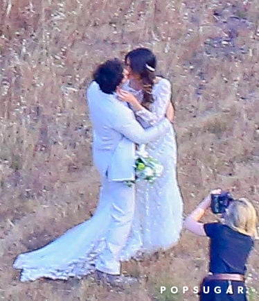Ian somerhalder and nikki reeds wedding pictures popsugar relive ian somerhalder and nikki reeds breathtaking wedding junglespirit Choice Image