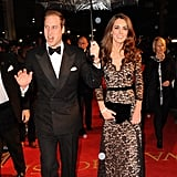 Kate Middleton wearing Temperley.