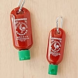 Urban Outfitters Sriracha To-Go Bottle Keychain