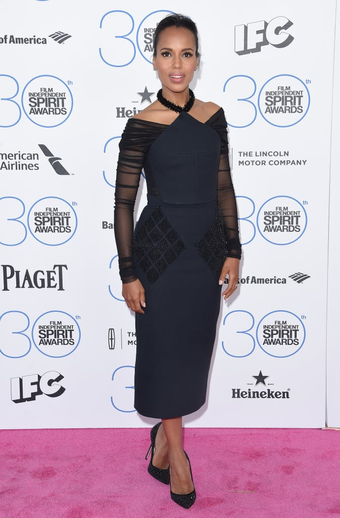 She Wore a Play on the Classic LBD at the 2015 Film Independent Spirit Awards