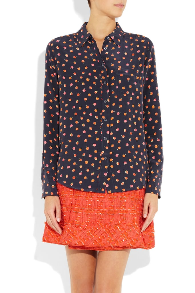 A Silky Printed Top