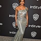 Laverne Cox at the 2019 Golden Globes Afterparty