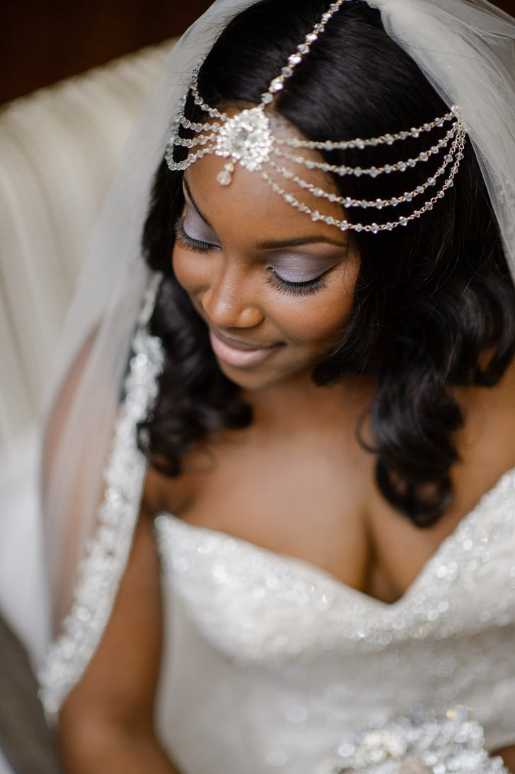 Jeweled Veil | Bridal Hairstyle Inspiration For Black Women | POPSUGAR Beauty UK Photo 33