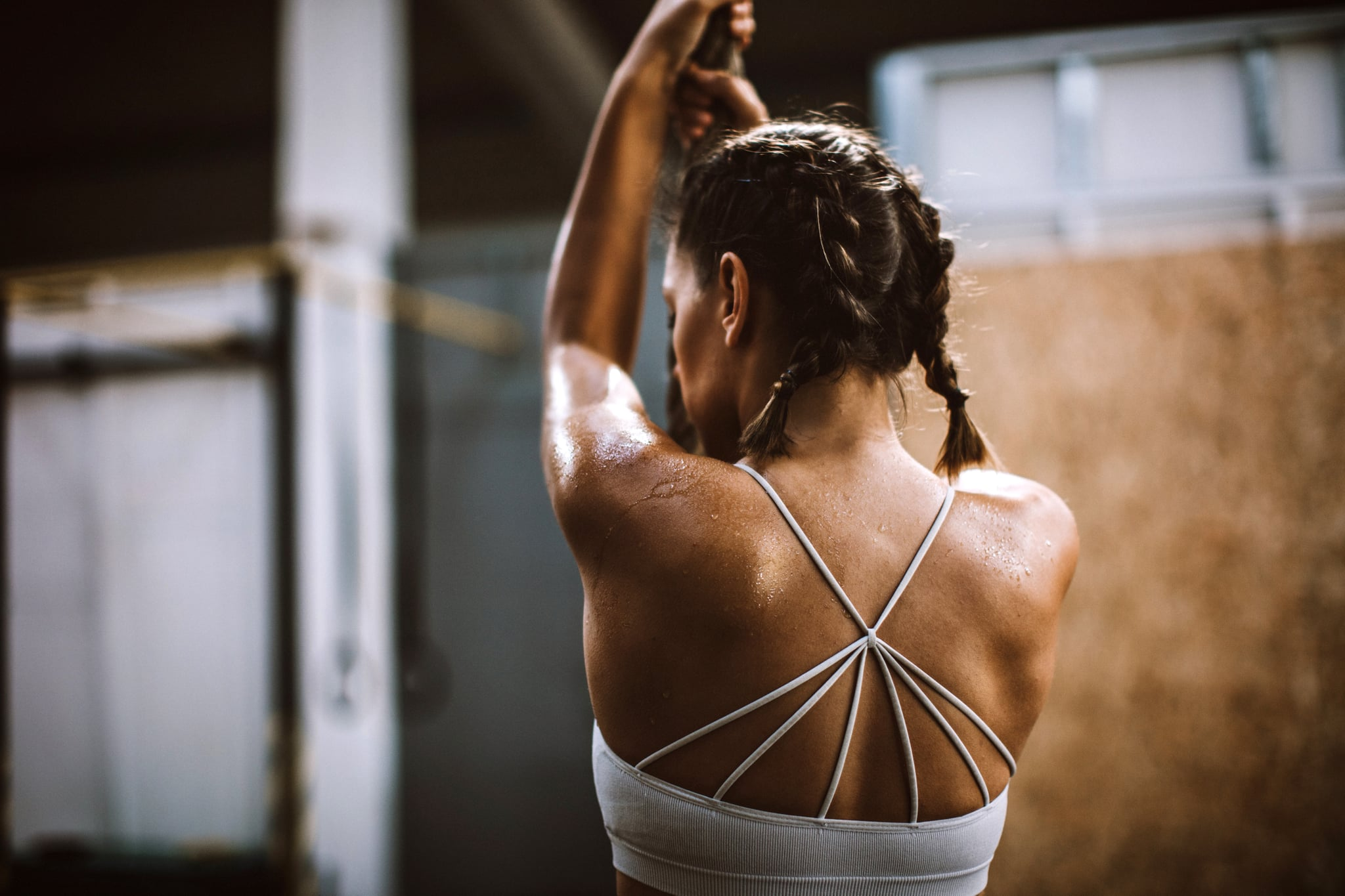 How To Prevent Back Acne While Working Out Popsugar Fitness