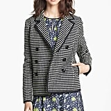 We love how the Check Jacquard Jacket ($545) can do double-duty as a blazer and a piece of outerwear.