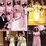 Bridal Parties Through the Years  The modern bridal party dates back all the way to Roman times, according to legend, when the law required 10 witnesses at a marriage. Some time down the line, the legal requirement turned into an optional tradition that now includes elaborate bachelorette parties and matching dresses on the day of. Over the past century, the styles have evolved, with accessories like matching gloves and hats going out of style. Still, the specialness of having the support of your closest friends and family members has remained constant. Take a look now at vintage bridal parties. While you likely won't envy the shoulder pads, you might get some inspiration from the more glamourous styles of the 1930s, '40s, and '50s.