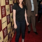Kristen Stewart hit the red carpet for an LA screening of A Better Life.