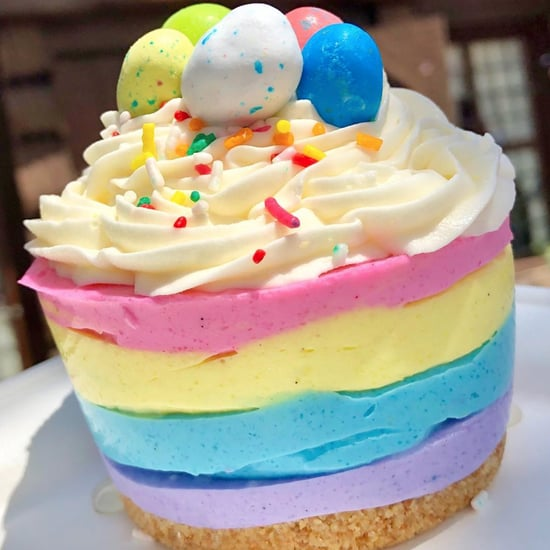 Disney Lemon Easter Cheesecake at Epcot Norway