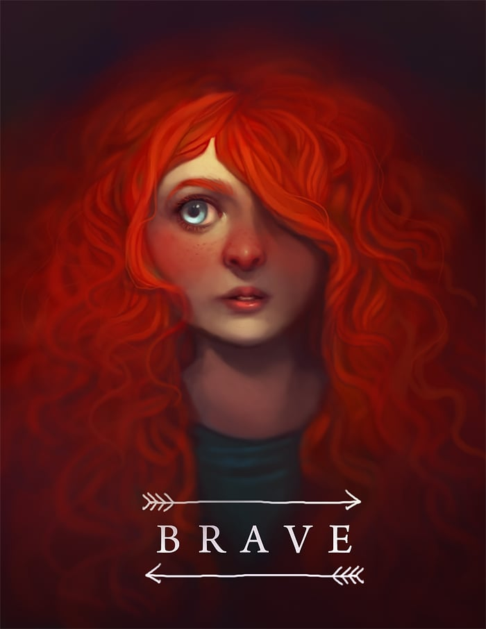 Soft and Powerful Merida