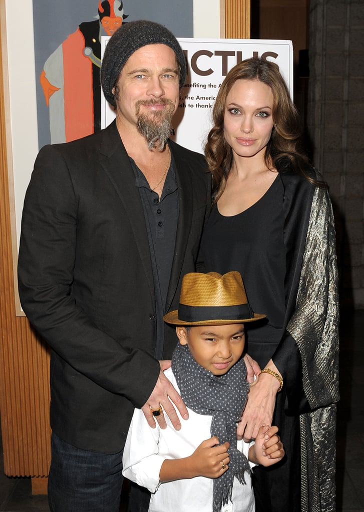 Angelina and Brad took Maddox to the LA premiere of Invictus in 2009.