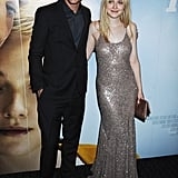 Dakota Fanning Has a Good Time in a Sparkly Stella McCartney Gown