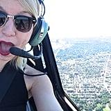 الطيران بالهليكوبتر