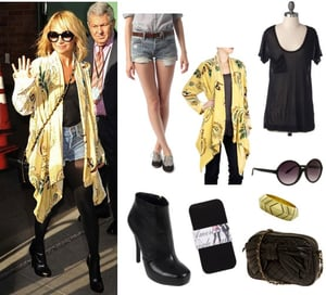 Pictures of Nicole Richie's LA Street Style