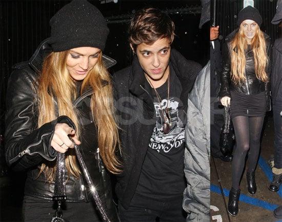 Photos of Lindsay Lohan and Samantha Ronson in LA 2008-11-27 06:01:30