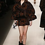 Kendall Made a Printed Puffer Coat Look Chic at Fendi