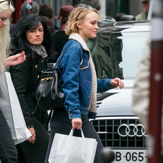 Lily-Rose Depp's Chanel Backpack