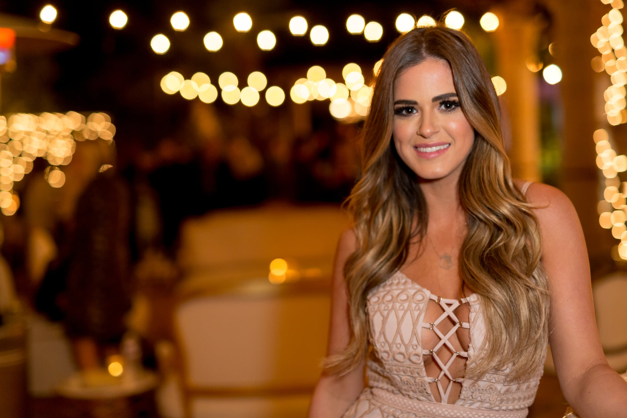 LOS ANGELES, CA - DECEMBER 05:  JoJo Fletcher attends the Becca Tilley's Blog And YouTube Launch Party at The Bachelor Mansion on December 5, 2016 in Los Angeles, California.  (Photo by Greg Doherty/Getty Images)