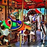 First Merry-Go-Round Ride