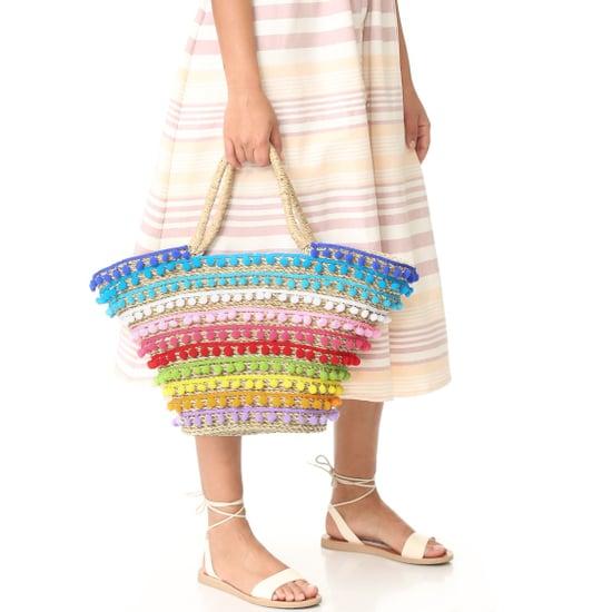 Pom-Pom Beach Bags