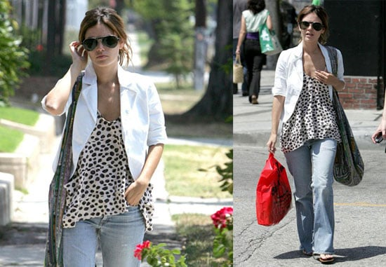 Photos of Rachel Bilson Having Lunch in LA
