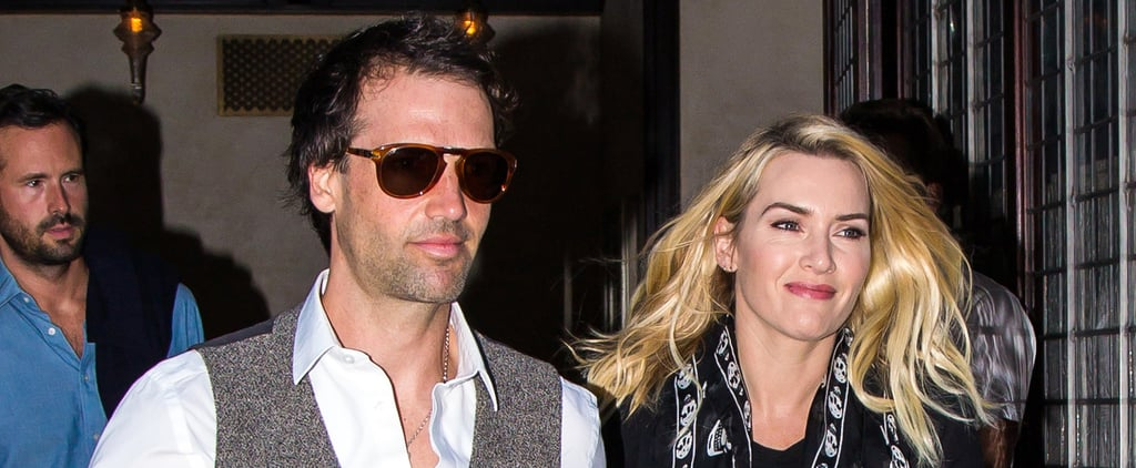 Kate Winslet and Her Husband Hold Hands in NYC
