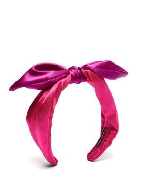 Leila Satin Bow Headband