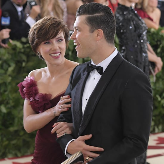 Scarlett Johansson and Colin Jost at 2018 Met Gala Photos